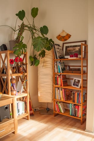 Living/Bed room Wohn/Schlafzimmer