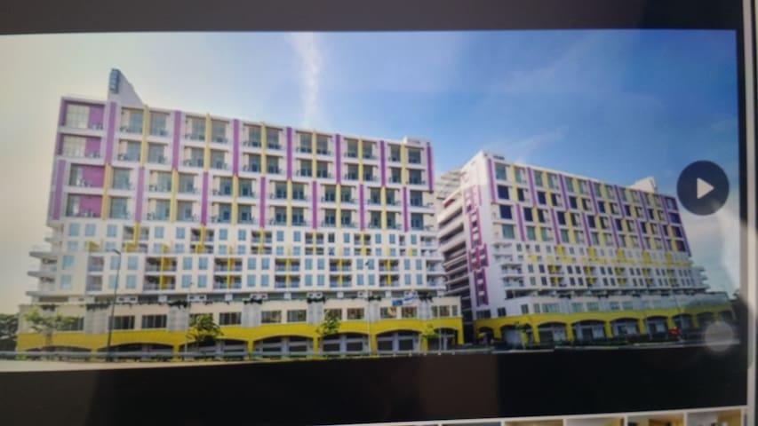 GloriaSwiss apartment Melaka Deluxe room + Balcany