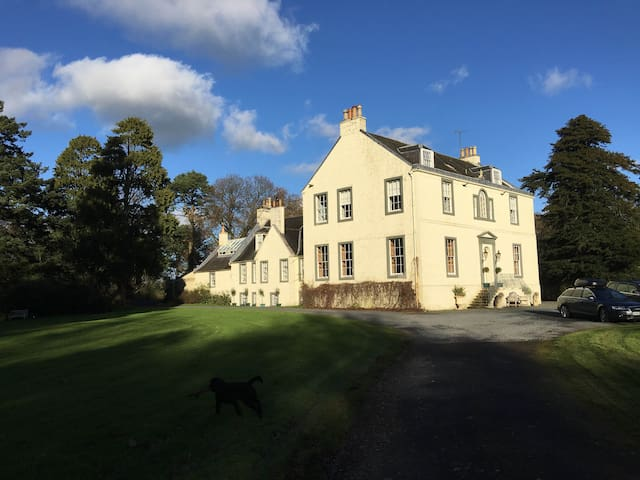 A Listed Baronial Scottish Mansion near Glasgow