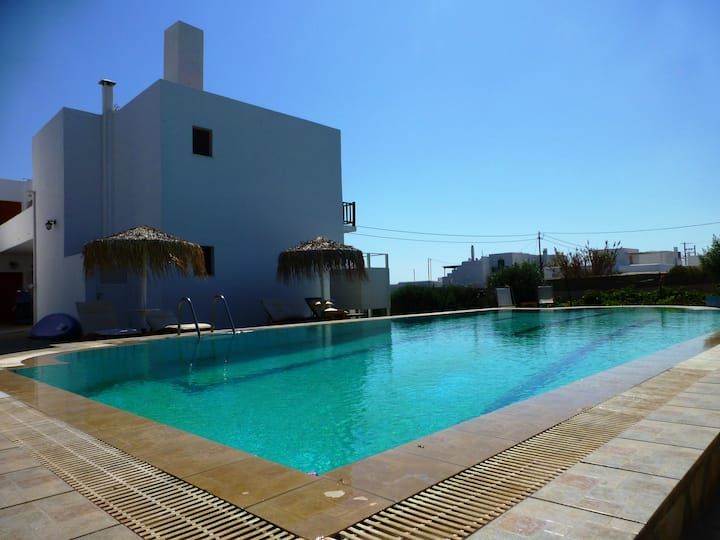 Sea view Apartment with Shared Pool