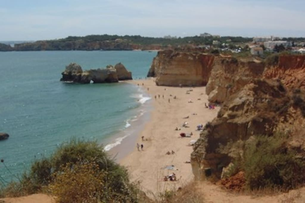 Cove beaches further to the West, within walking distances