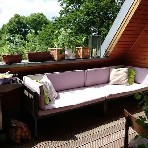 """160 m2 Charming place by """"Stadtpark"""" - Hamburg - Appartement"""