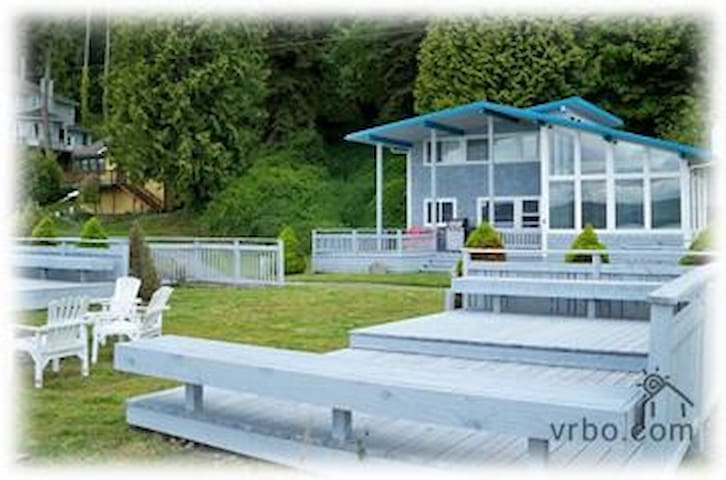 Spectacular Whidbey Beach House - Clinton - House