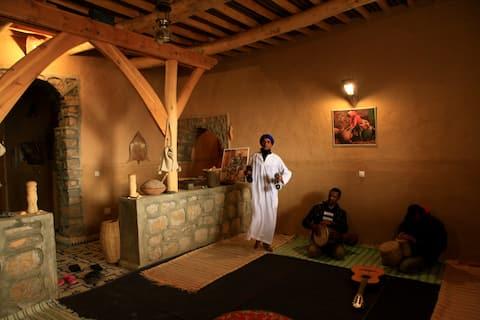 Maison hôte traditionnelle berbère