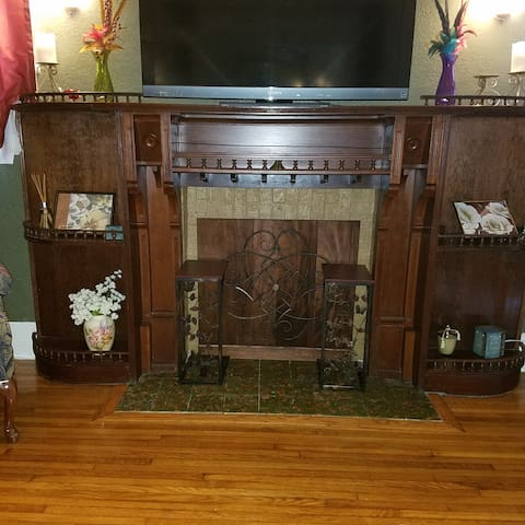 1920's restored Fireplace