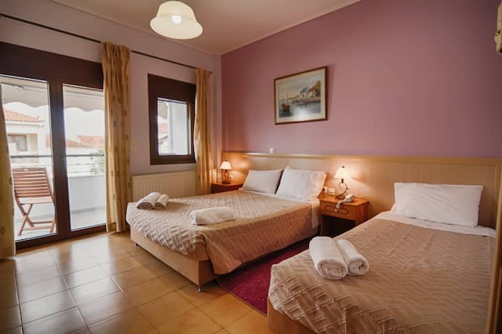 Quadruple Room Nufaro on Lesvos