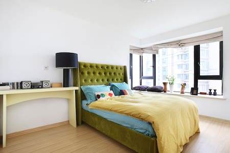 2 min subway bedroom  high apt - Apartment