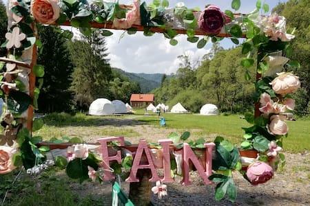 Camping Fain-  2 canvas tent