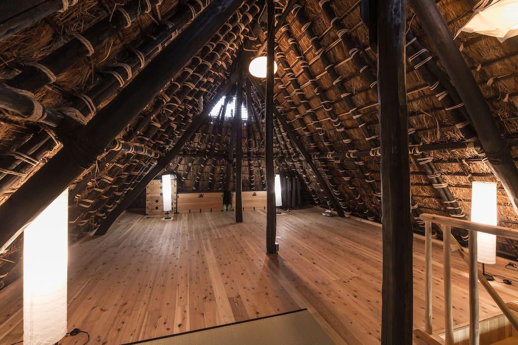 2nd floor attic room