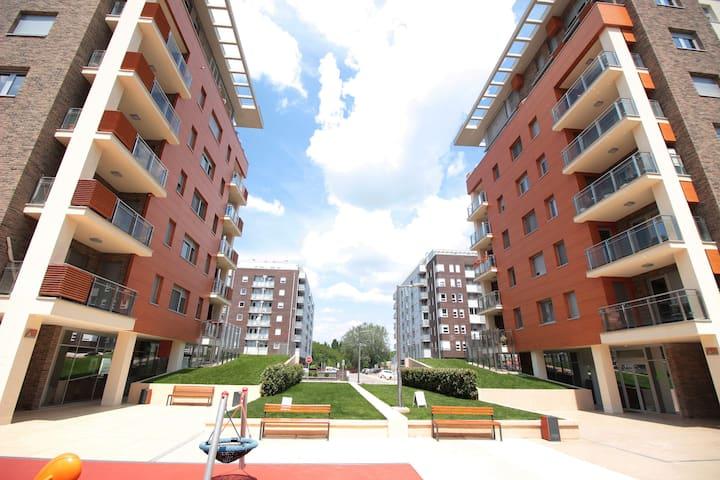 Apartment A Block Ikona New Belgrade Delta City