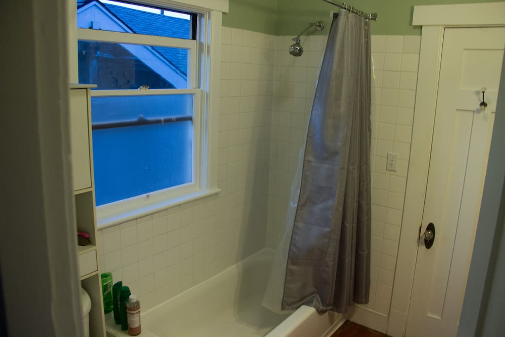 Jack and Jill bathroom is located between the two bedrooms