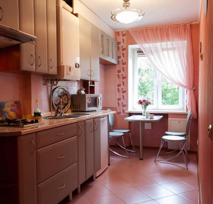 Двухкомнатная квартира в районе Амалиенау