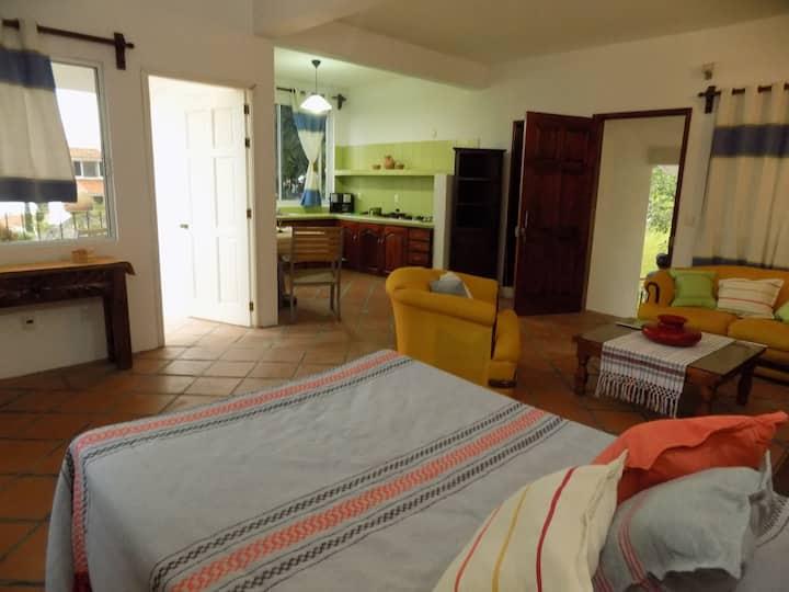 Apartamento Ayuuk, balcón, hamaca, relax...