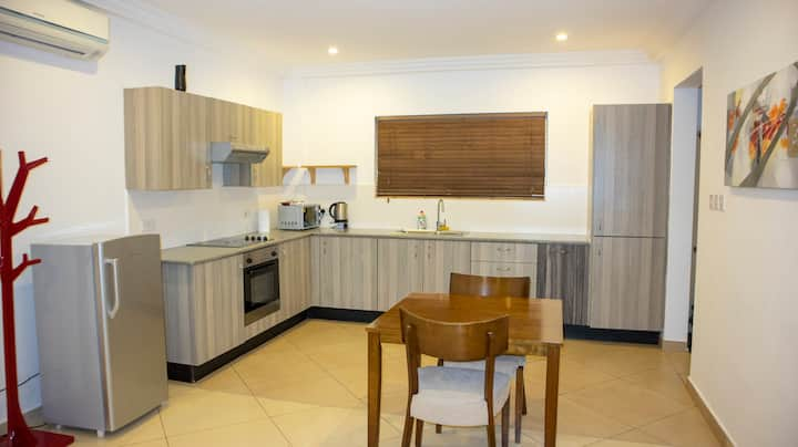 A Spacious Two Bedroom Serviced Apartment