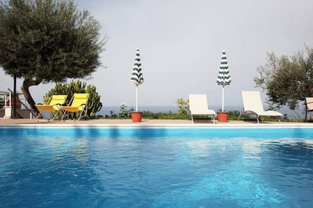 Charming Villa with private pool and sea view - Cefalù - Villa