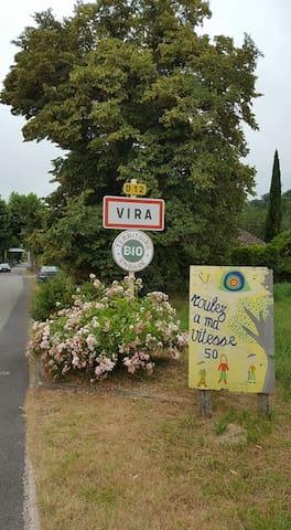 village où se trouve la maison