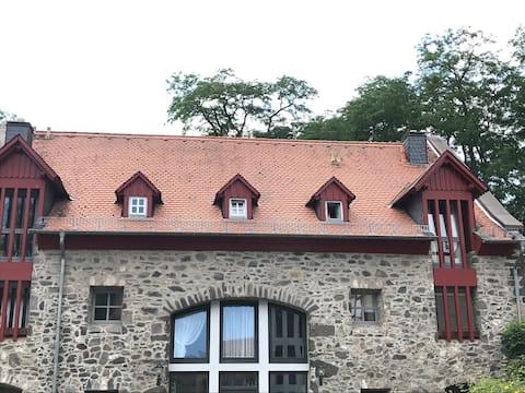 Wohnen am Schlosspark im historischen Hofgut.