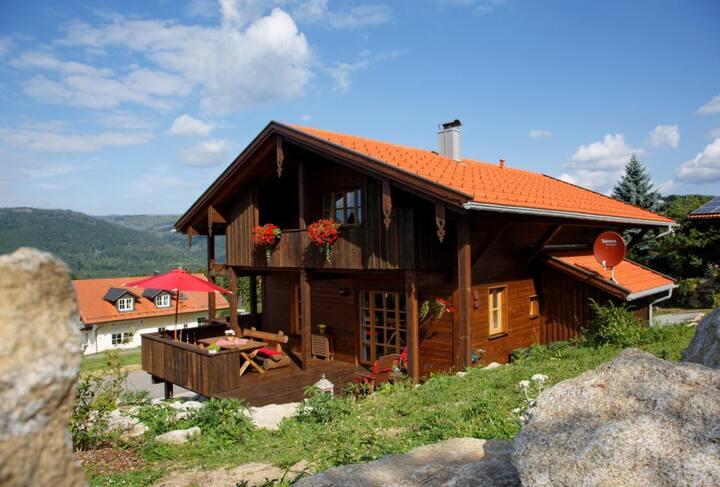 Ferienhaus Hirschkopf mit Sauna Bayerischer Wald