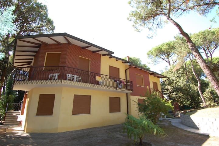 Comfortable holiday home apartment near Venice with parking