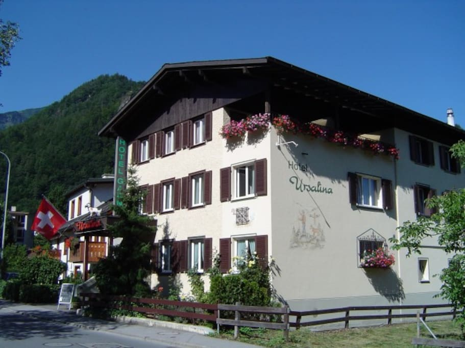Room in a cozy guest house chambres d 39 h tes louer bad ragaz sankt gallen suisse - Chambre d hote ruoms ...