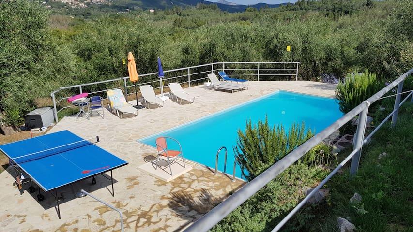 D-Holidayhome (6P-8P), olive grove, C-trail, sea