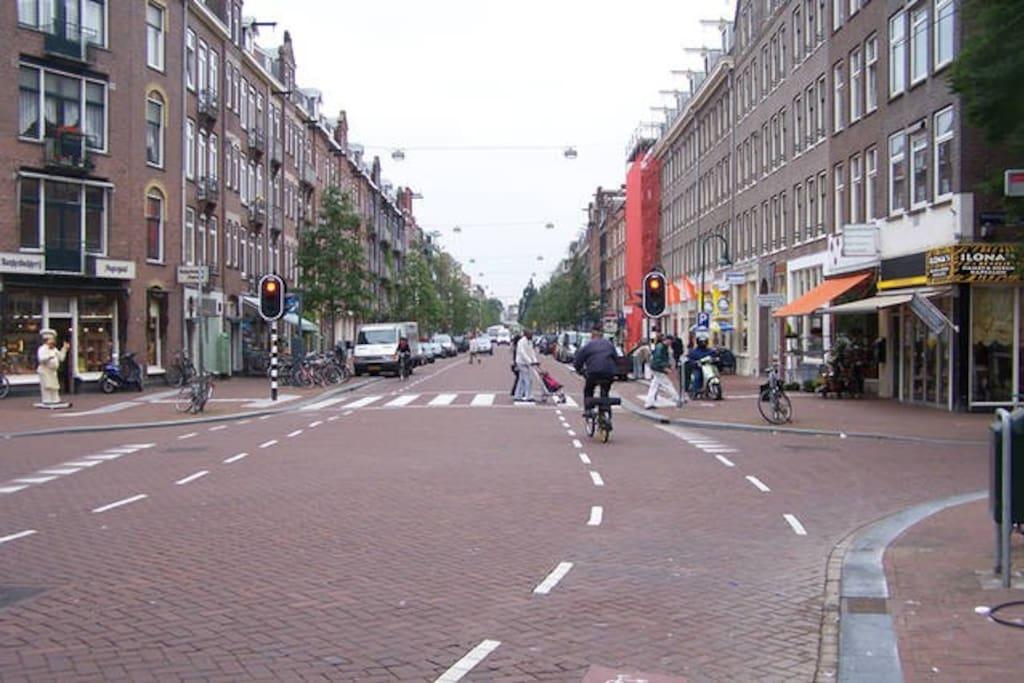 The street: Spaarndammerstraat