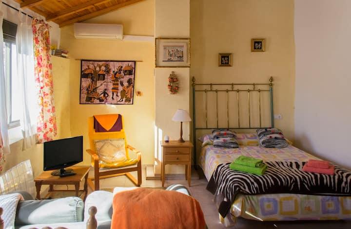 Charming studio in the center of Chulilla