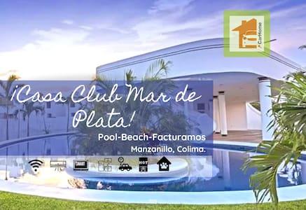 Clean house, pool, 8min beach, ACC facturamos