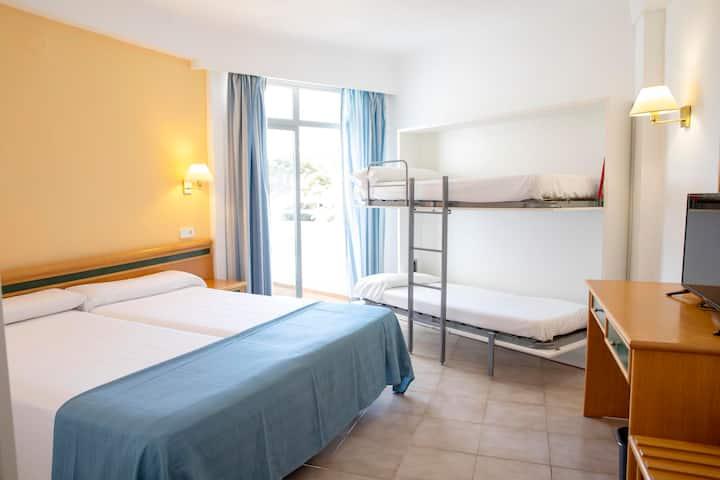 Hotel2 Cala Gran Habitación con baño Todo Incluido