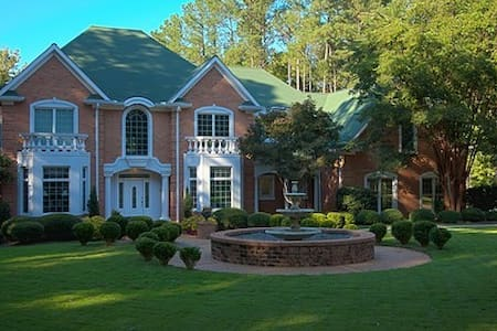 20 Acre Private wooded retreat w/pool & pond - Appling