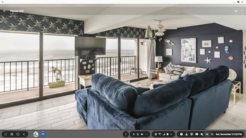 Galveston Beach Front Condo