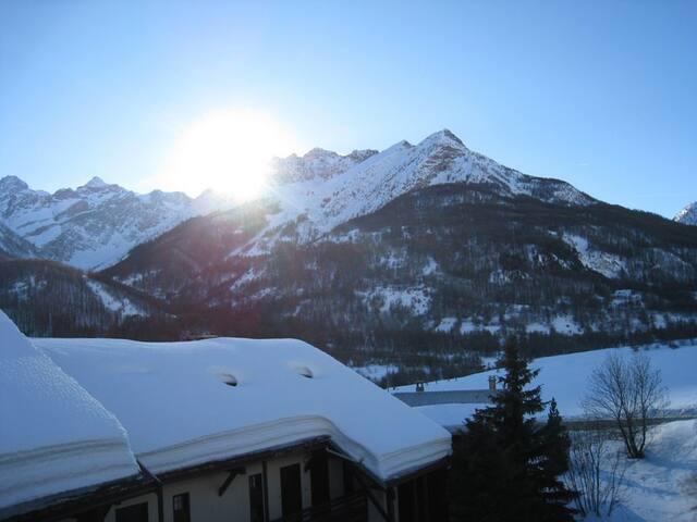 Un charmant duplex à la montagne - Le Monêtier-les-Bains - Apartamento