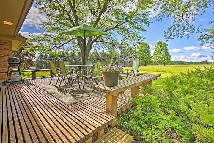 NEW! Classy Home w/ Billiards Table, Country View!
