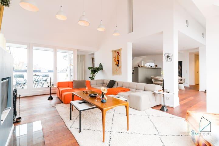 Modernes Penthouse Apartment in zentraler Lage