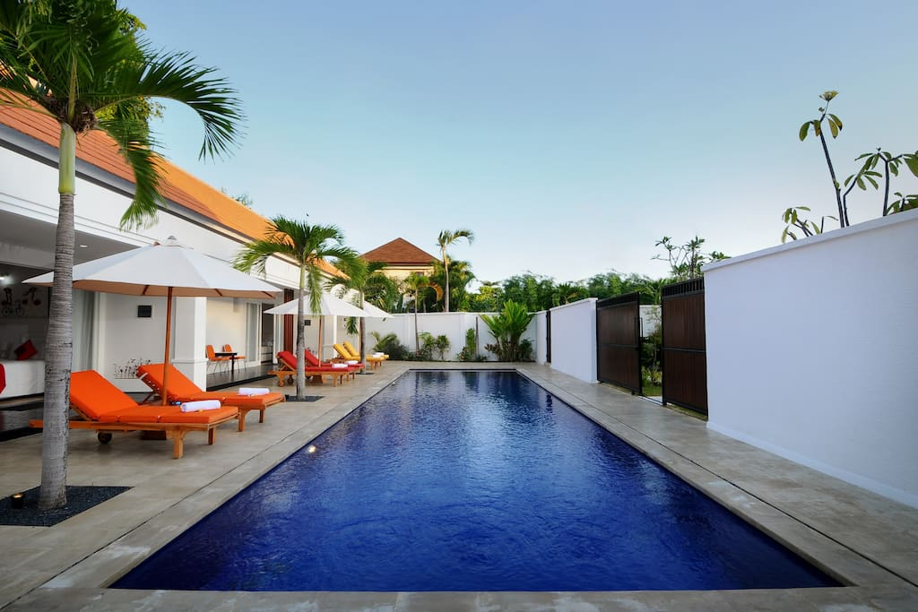 14m x 4m shared pool