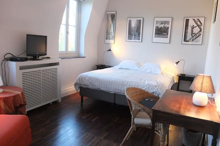 Charming quiet apt. Brussels University, EU areas - Watermael-Boitsfort - Pis
