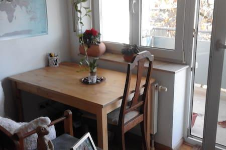 Gemütliche 1-Zimmerwohnung nahe zum Stadtzentrum - Freiburg im Breisgau - Apartmen