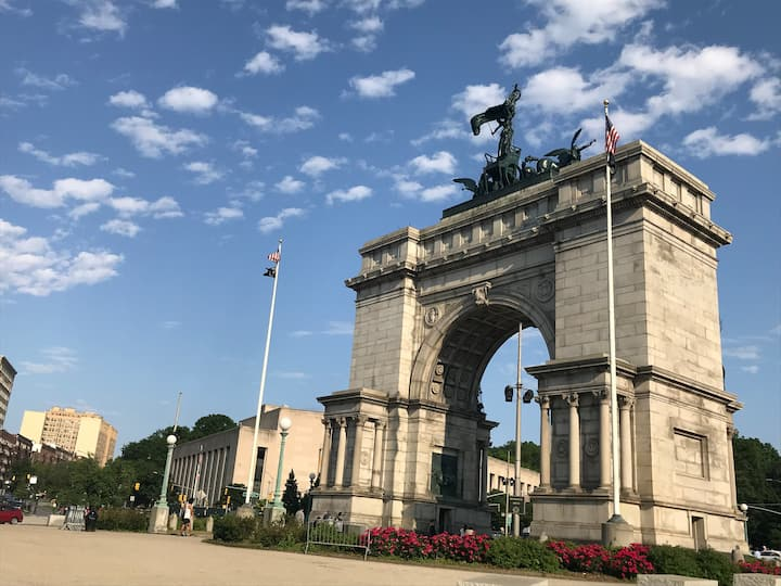 Prospect Park/Staycation/Nr.Transit & Attractions