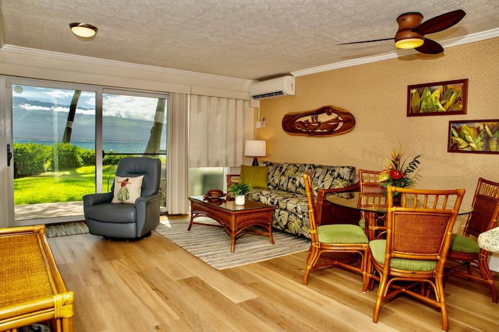 MAK-A6 - Maui Beachfront 1st floor Condo With Double Lanai—Epic View; 2BR/2BA