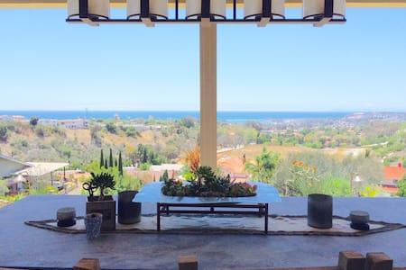 Panoramic ocean view! Zen Retreat! - San Juan Capistrano - Casa