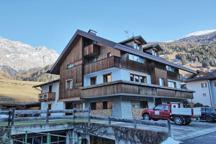 Bormio family chalet Ski and Trekking - Sant'Antonio