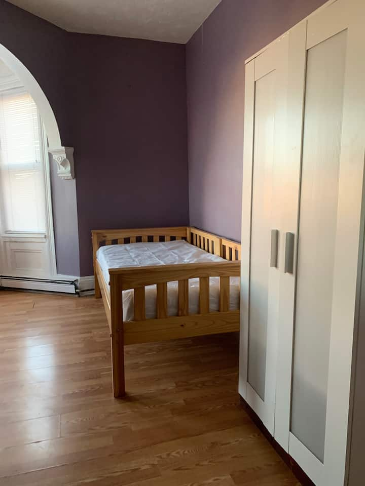 Large Private room in the heart of town.