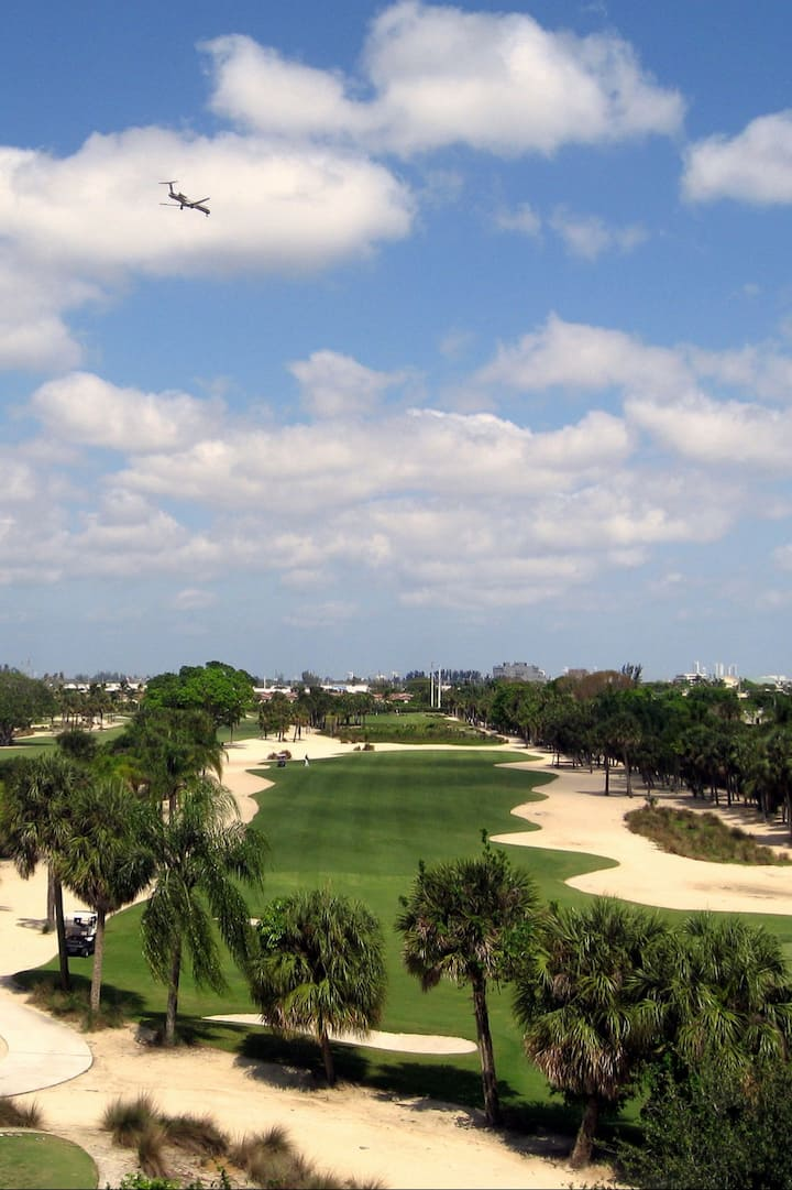 Blue Golf Course