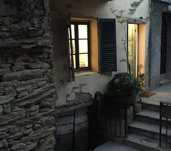 studio tout équipé avec terrasse et jardin - Poggio-di-Venaco