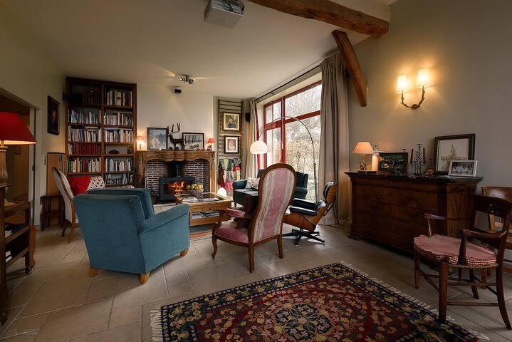 Maison spacieuse - Forêt de Troncais - 6 personnes