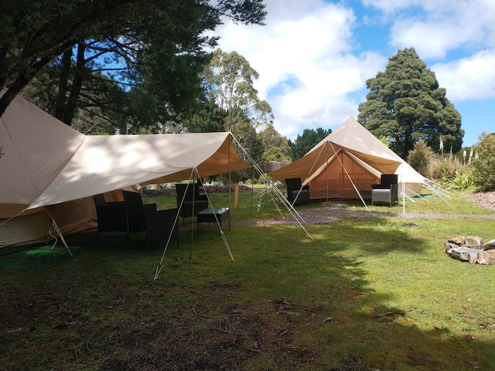 Luxury Family/Friends Glamping Site (2 tents)