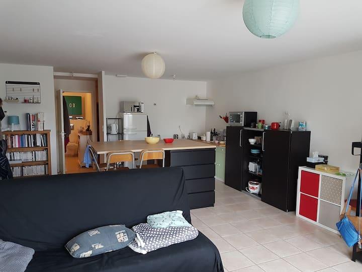 Appartement Agon Coutainville : mer à 100m pour 4