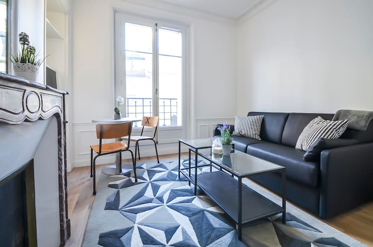 Cosy studio design - Opéra - Paris - Appartement