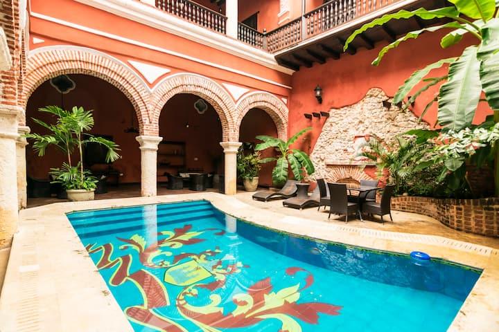Car022 - Colonial House in Cartagena