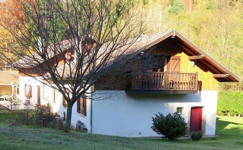La Scierie (Période estivale) - Lubine - Huis